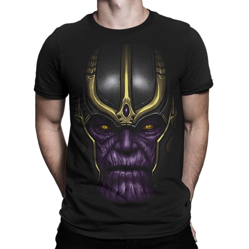 Mens Regular-Fit Cotton Polo Shirt Short Sleeve You Know And Good Bring Me Thanos