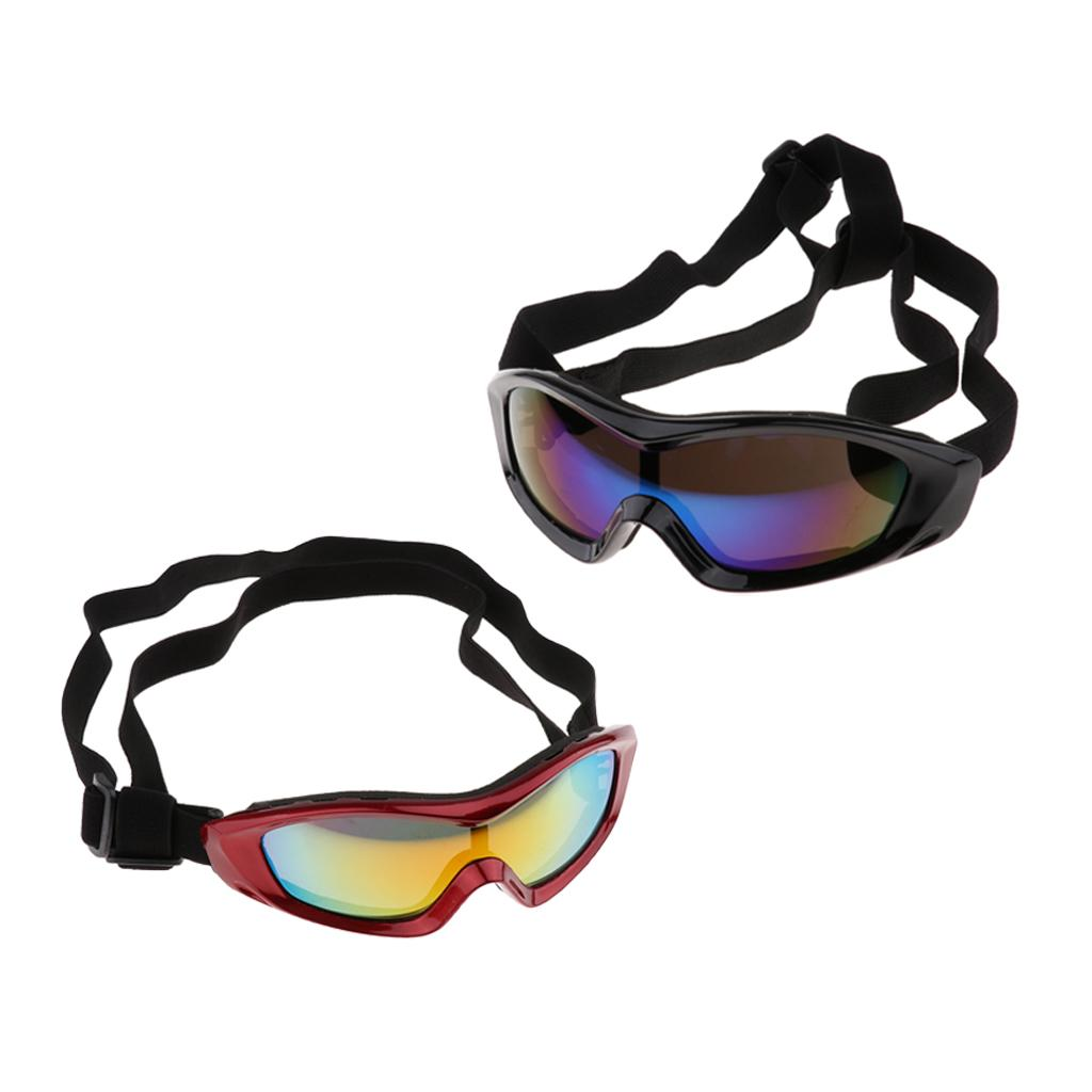 2 PCS Small Dog Sunglasses in ABS and Plastic, Waterproof Windproof UV Protection for Doggy Puppy Cat