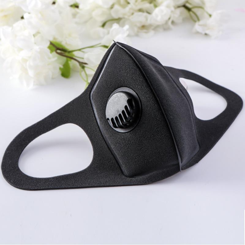 Дизайнер маска Губки маски с клапаном моющегося многоразовой маской для лица Анти загрязнения Анти пыли Индивидуального пакета