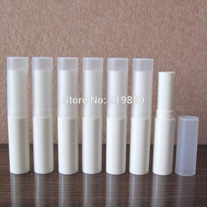 Free shipping-4g(100pc/lot) lip balm bottle ,lipstick tube ,lip gloss containers ,lipstick case,Makeup cosmetic container
