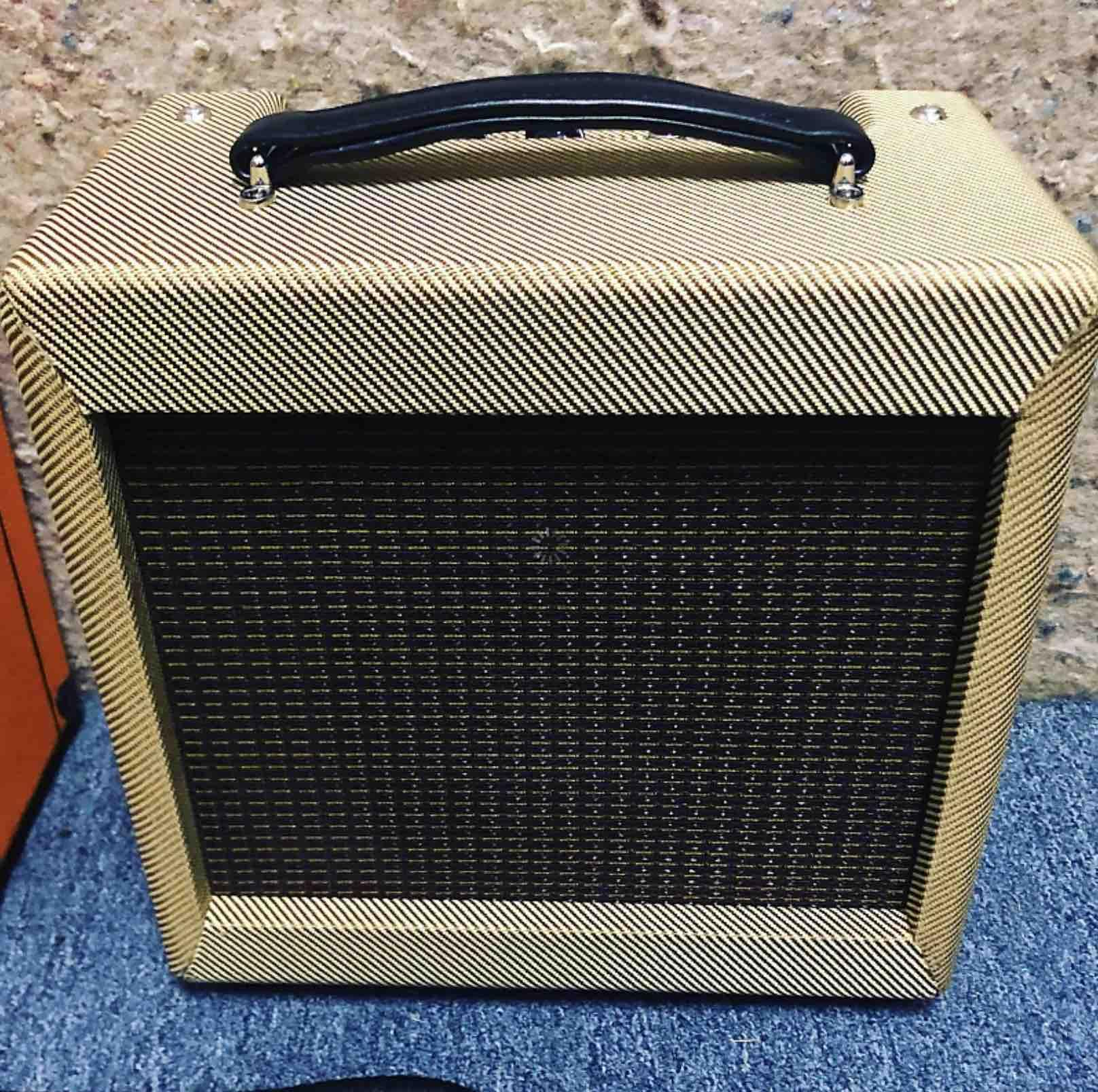 "5F2A 1*10"" speaker Hand Wired Tweed Guitar Amplifier Combo 5W 1*8 Speaker with Volume Tone Control customized logo Grand Amp free shipping"