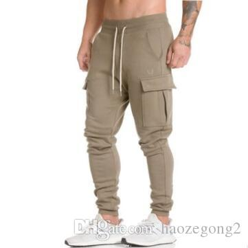 2019 new design Men Spring Camouflage Pencil Pants Trousers Sportswear Outwear Male Casual Fashion Slim Fitted Long Pants