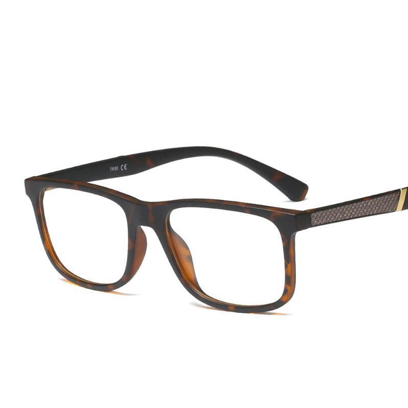 2019 خمر ساحة نظارات إطارات رجل واضح نظارات مع عدسة شفافة TR90 النظارات إطارات النظارات البصرية الإطار FML