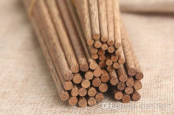 Freie angepasstes Logo Umweltschutz Geschirr Hähnchenflügel Holz-Stäbchen