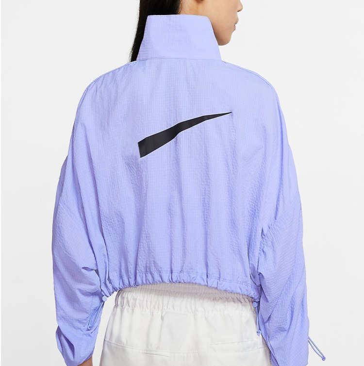 2020 nueva llegada chaqueta para mujer con cremallera de la manera cortavientos chaquetas otoño colores púrpuras de las mujeres ocasionales de los deportes de la chaqueta del tamaño S-XL