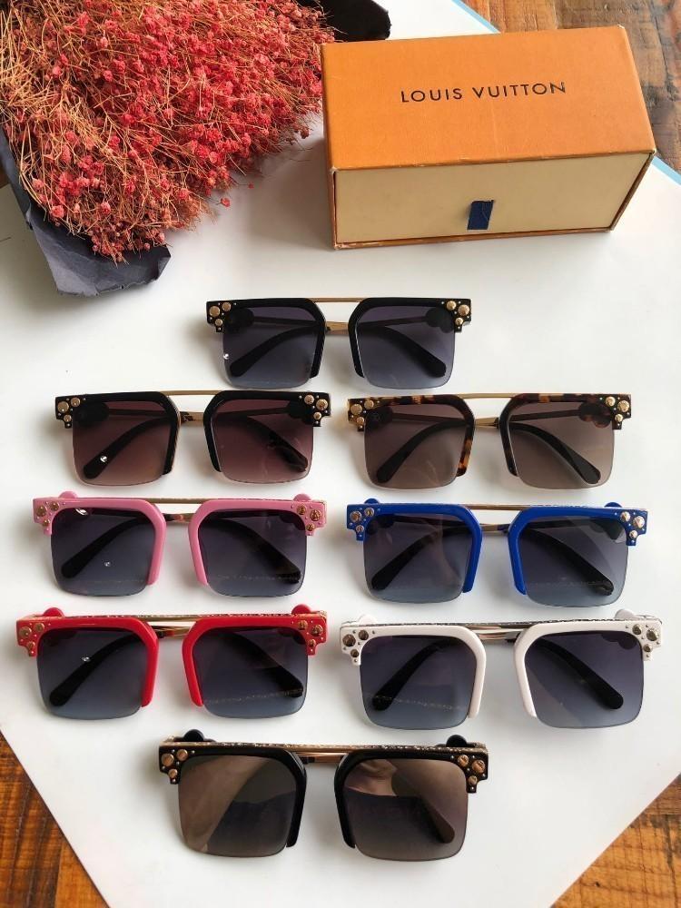 Lou New chaud neutre lunettes de soleil mode classique généreux cadre lunettes de soleil porter confortable meilleure lunettes de soleil de qualité