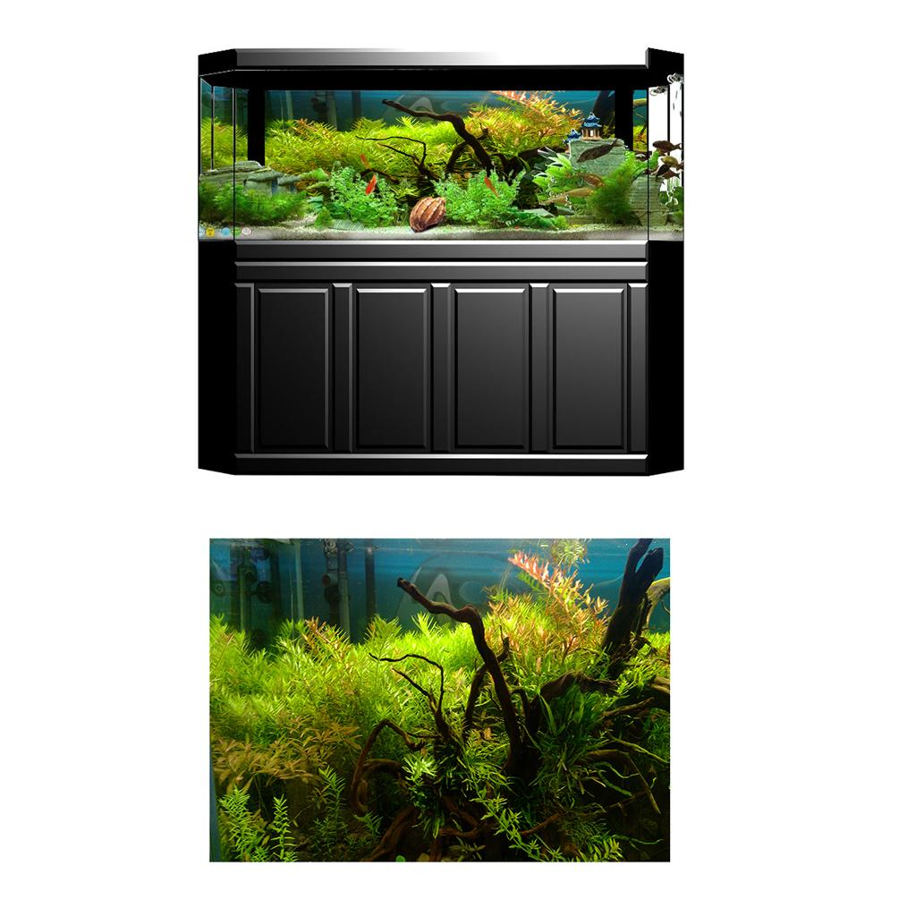 2020 3d Aquarium Background Hd Water Plant Fish Tank Picture Decoration Pvc From Zeyuantrading 8 43 Dhgate Com
