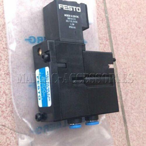 Новый Festo электромагнитный клапан MEBH-4/2-QS-4-SA (160240) бесплатная доставка