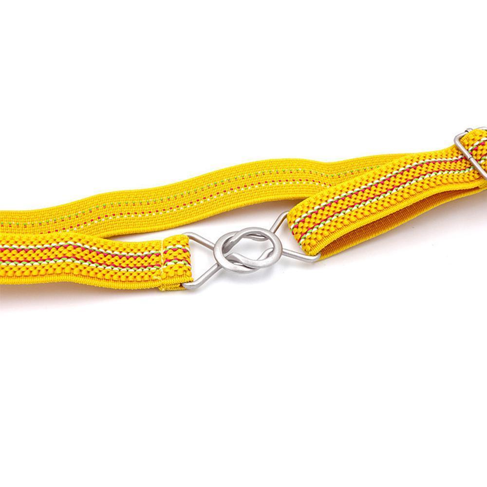 2019 Nouveau mode couleur Candy Stripe large Enfants enfants taille élastique réglable ceinture Cadeau Pour Garçons Filles