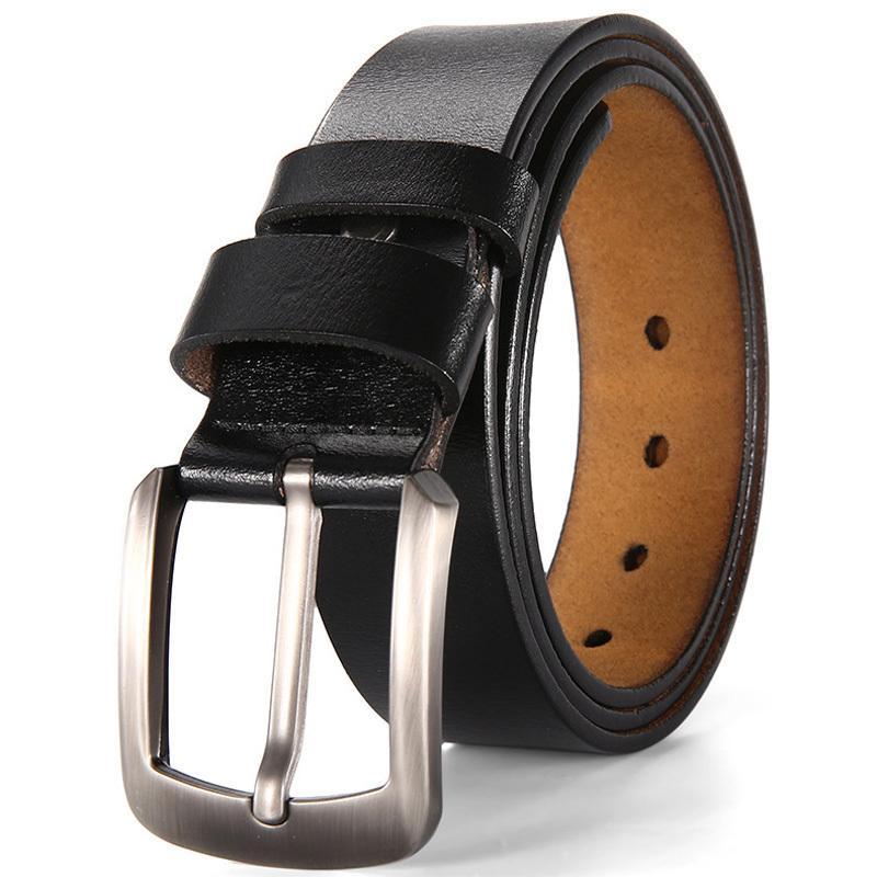 Cinto de grife de luxo para as mulheres de nova marca de alta qualidade clássico latão couro genuíno fivela calças de brim do sexo masculino cintura strap t190701
