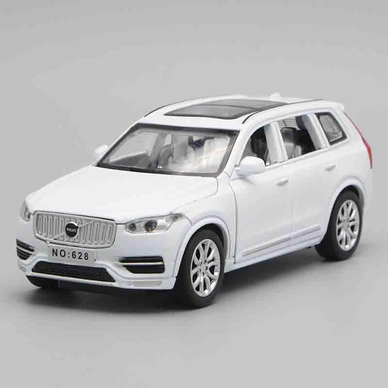 Volvo XC90 SUV 1:32 Diecast Model Pull Back Toy Car Doors Open Lights /& Sound