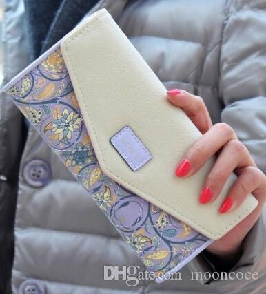 2019 Frauen Frauen Geldbörsen Leder Geldbörse Lange Reißverschluss Lässige Clutch Wallet Wristlet Portefeuille Carteira Feminina Monedero Schwarz Farben