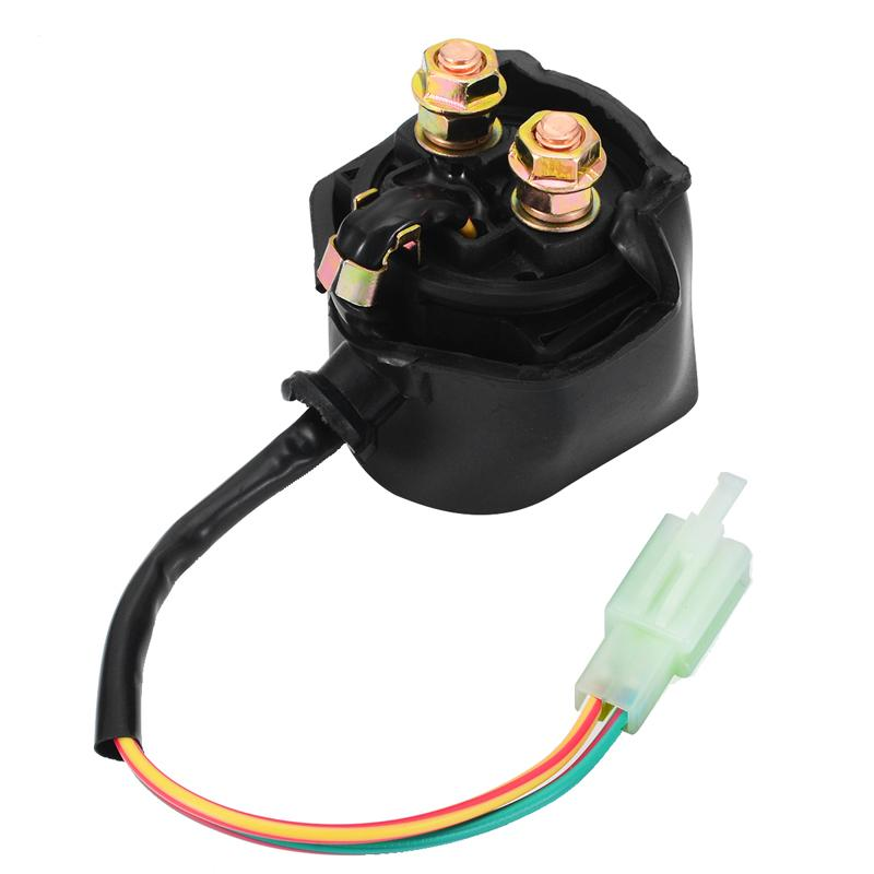 Motorcycle Starter Solenoid Relay ATV GY6 50cc 110cc 150cc Motorcycle Parts For Chinese Scooter ATV Karts Motoc
