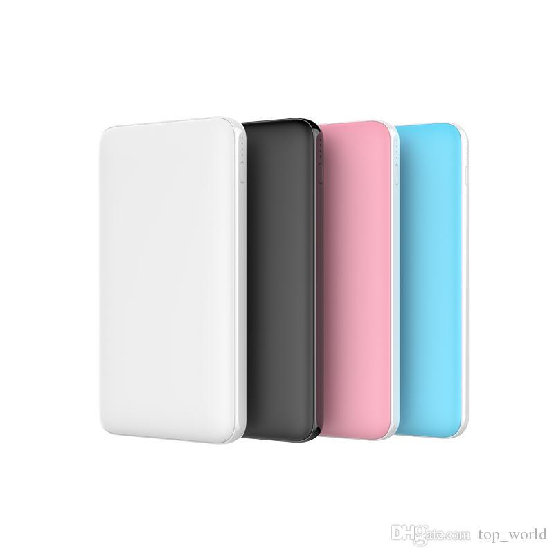 QC3.0 PD18W Slim Power Bank 10000 mAh Portable Charging Ultra thin Powerbank external battery backup pack for iPhone poverbank 10000mah