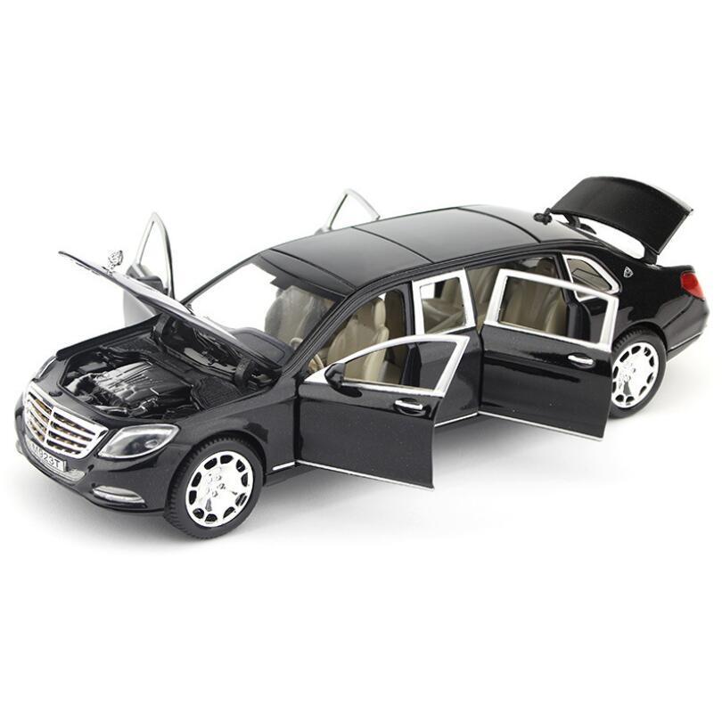 Metal Araba Model Oyuncaklar 1:24 Arabalar Alaşım Dodge Geri Çekin Oyuncak Arabalar Diecast Model Çocuk Koleksiyonu Oyuncak