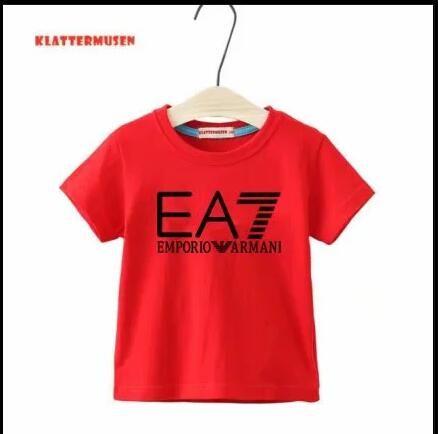 2020 nuevos niños del estilo de la camiseta para niños y niñas Deportes ropa infantil ropa de bebé de la manga corta Niños camiseta clásica del envío libre 21