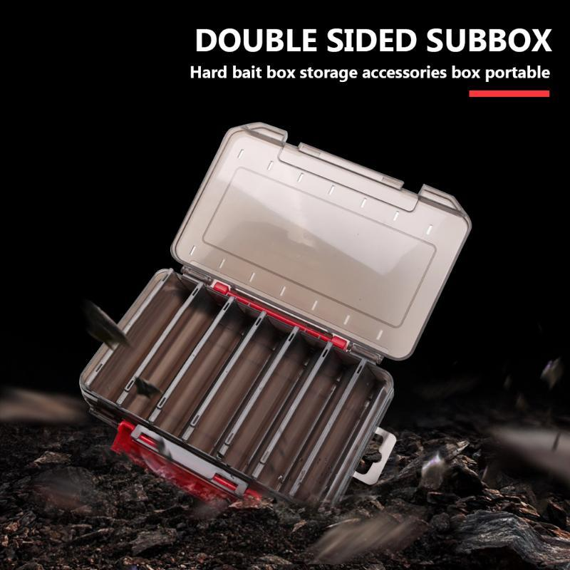 Tackle Boxes Box Lure Boxes Double Sided Use Bait Hook Case Organizer Fishing Accessories Large Capactity Lure Storage Fishing Tackle