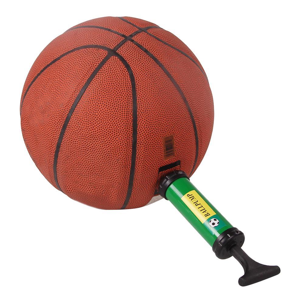 Manual de Basketball insuflação Football Balloon Inflator dupla utilização inflável mão Empurre bomba portátil