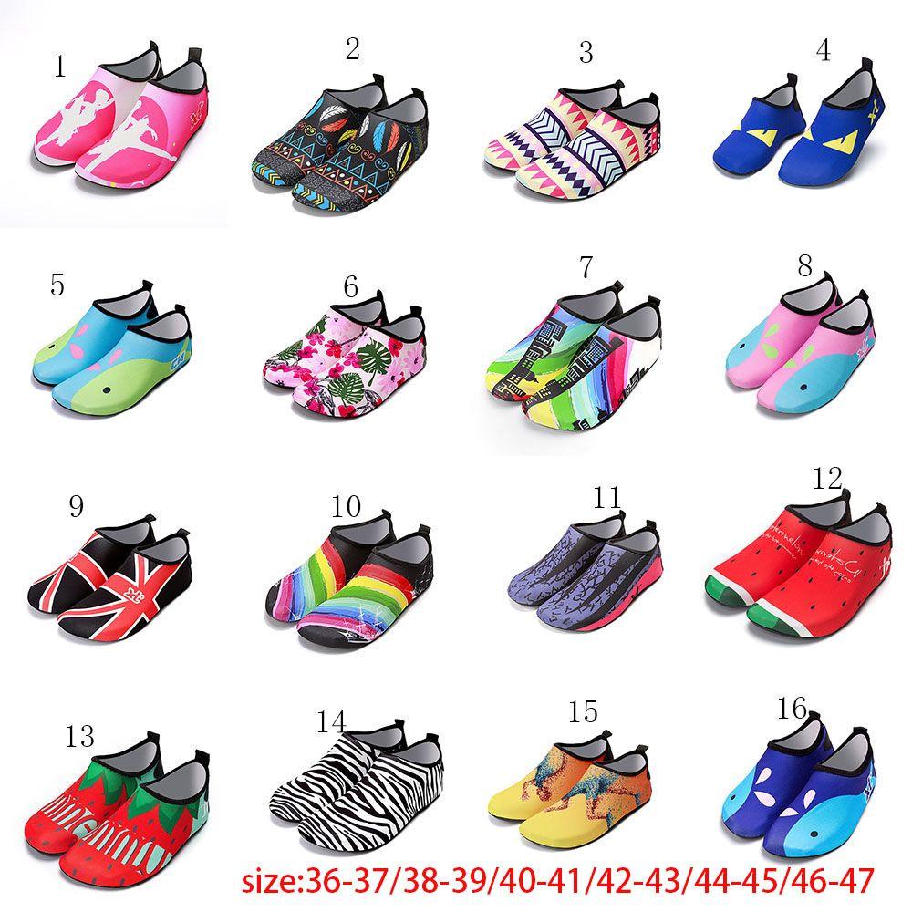 Mens Water Beach Shoes Aqua Socks Yoga Slip On Gym Exercise Pool Swim Size 7-13