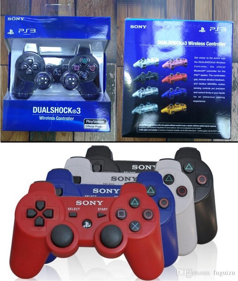 Die besten PS3-Controller Wireless Controller Bluetooth Game-Controller Doppel Schock für playstation 3 PS3 Joysticks Gamepad mit Kleinpaket