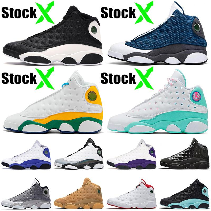 nike air jordan retro 13 13s Nuevo 13 Jumpman inversa Una mala jugada Flint Soar verde zapatos Mujeres Patio del baloncesto de los hombres formadores de deporte de diseño