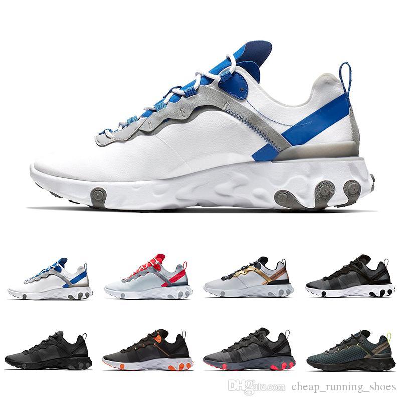 Dikişler Güneş Kırmızı Eleman 55 Toplam Turuncu Erkekler Kadınlar Tasarımcı Spor Erkek kadın Trainer 55s Spor Ayakkabılar 36-45 İçin Ayakkabı Koşu Tepki Taped