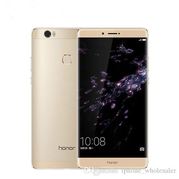 Huawei Honor d'origine Note 8 Cell Phone 4G LTE Kirin 955 Octa noyau 4 Go de RAM 64 Go 128 Go ROM Android 6.6 pouces 13MP ID d'empreinte Téléphone mobile