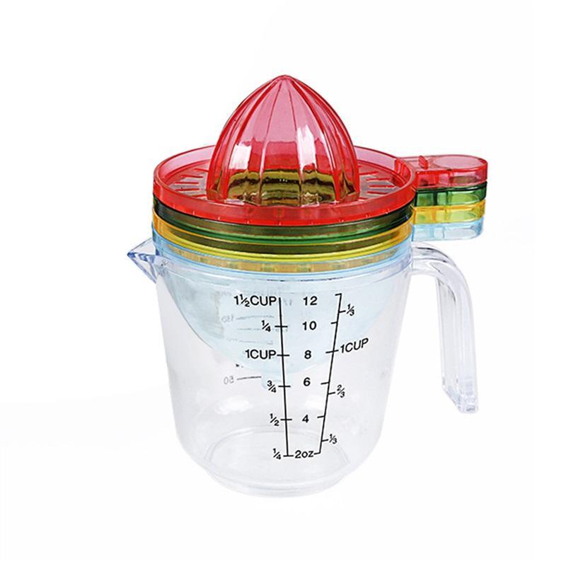 4 pcs Manual Juicer Squeezer Multi-funcional Extrator De Suco De Citrino Limão Alargador Reamer Frutas Legumes Ferramentas Utensílios de Cozinha