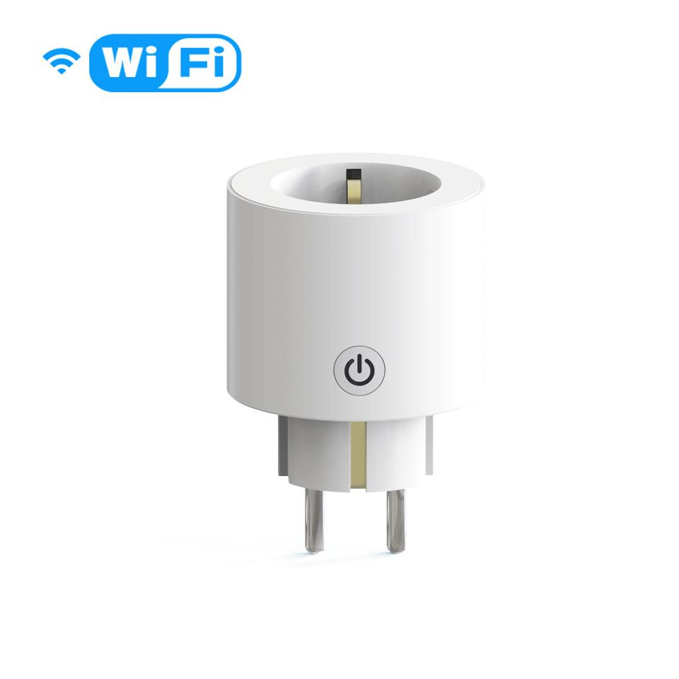 Tuya Smart Life Wifi Socket Outlet Smart EU Power Plug Works with Google Home Alexa Remote Control Timer Switch No Hub Required Smart Home
