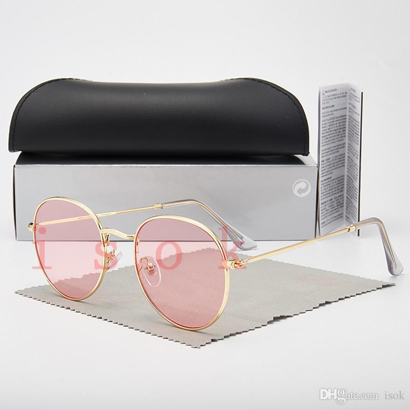 10PCS, 도매 높은 품질의 패션 3447 선글라스 남성 여성 디자이너 브랜드 선글라스 편광 렌즈 케이스 및 상자와 안경