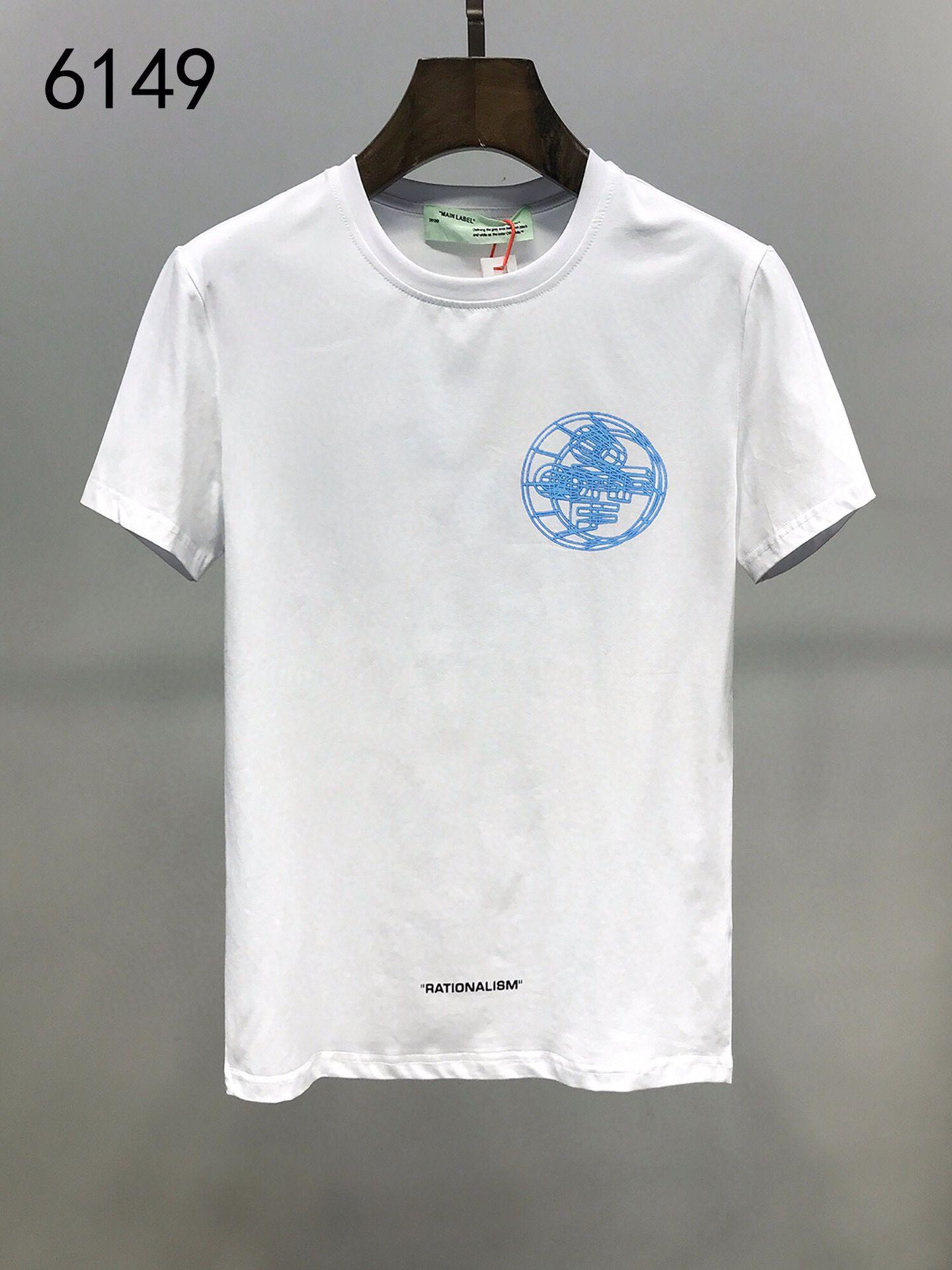 2020 yeni erkek kısa kollu temel kavisli T-shirt 02 suç marka T-shirt yıkama kumaş Yüksek Kalite Pamuk T-shirt M-3XL boyutu #P1