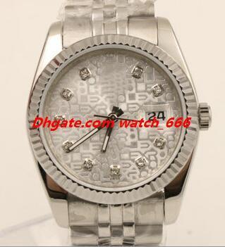 Nouvelle version Livraison gratuite Montre Homme 126234 116231 36mm A2813 Bracelet en acier inoxydable Mode automatique Montre luxe Montre-bracelet