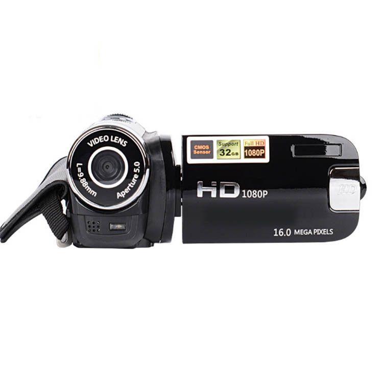 DV90 1080P Appareil photo numérique vidéo Enregistrer Clear Night Vision Anti-shake LED Timed selfie caméscope professionnel haute définition