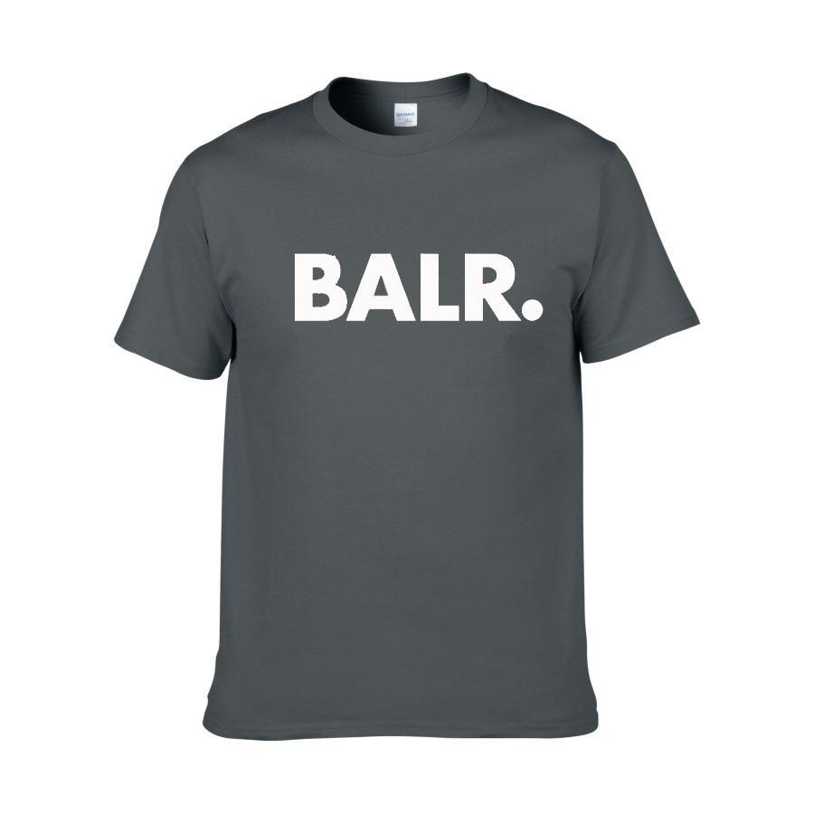Yeni Balr Tasarımcı T Shirt Hip Hop Erkek Tasarımcı T Shirt Moda Marka Mens Womens Kısa Kollu Büyük Boy T Shirt