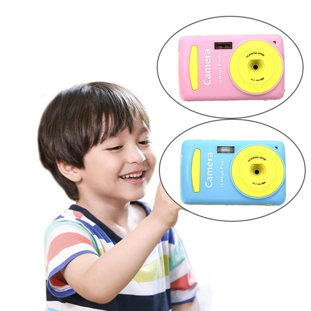 Children's Durable Camera Practical 16 Million Pixel Compact Home Digital Camera Portable Cameras for Kids Boys Girls