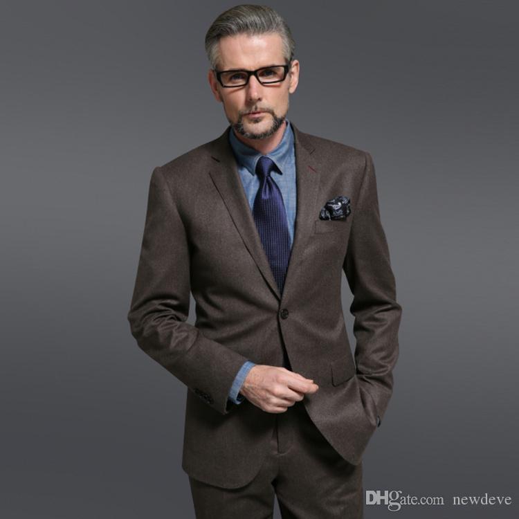 2020 New Wedding Tuxedos Zwei-Knopf-Schal Revers Groomsmen Bräutigam Wear Business-Anzug Maßgeschneiderte Herren Hochzeitsanzüge Jacke + Hose