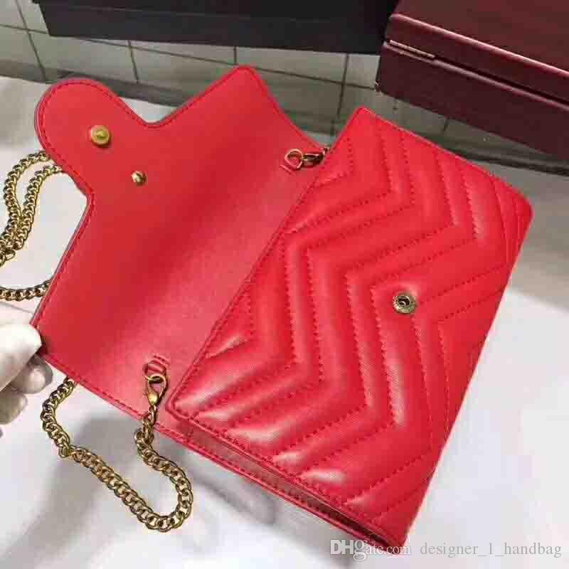 2015 classic أزياء السيدات سلسلة معدنية حقيبة الكتف قطري رفرف حقيبة جلدية مطرزة موضوع حقيبة يد مع مربع