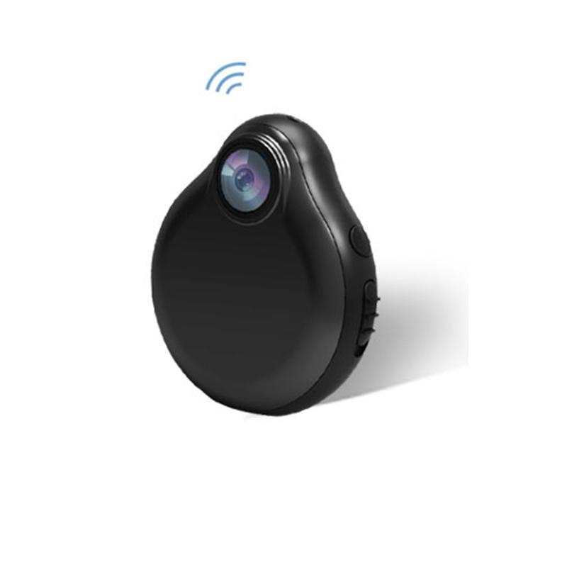 1080P Wifi Mini Cámara Espia magnética cuerpo de la videocámara de la visión nocturna del sensor de movimiento de vídeo HD H.264 Soporte de tarjeta Micro Cam oculto TF