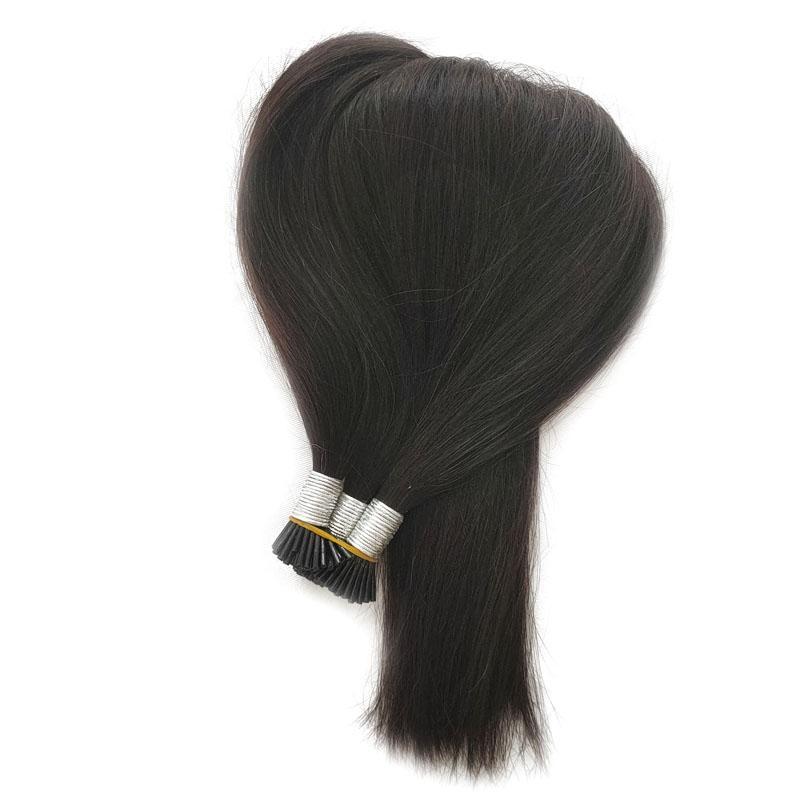 Grad8A Длина 14 «» - 26 «» // Класс 8 человеческие волосы Стики I наконечник в расширениях волос 100г / пакет 1g / s 200s / серии Естественного цвета волос кератин, свободный DHL