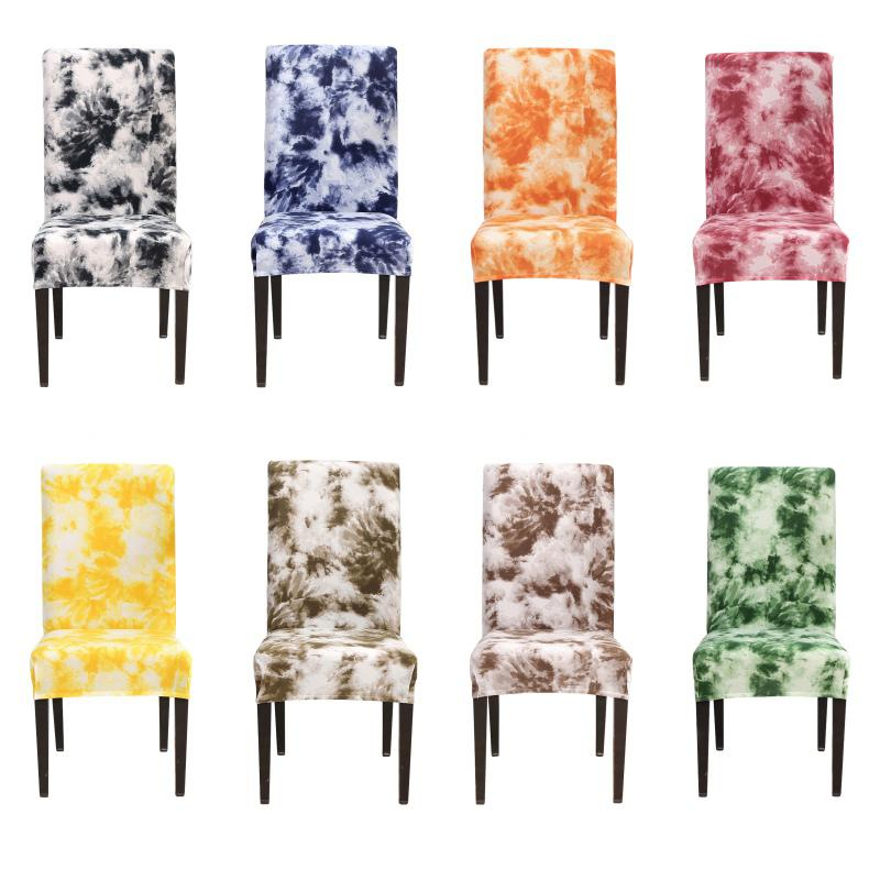 Colorful graffiti stampato Stretch sedia della copertura di Big elastici coprisedili Chair Pittura Slipcovers copertura della protezione della Home Decor