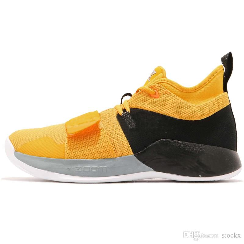 the latest a94f5 50e44 New PG 2.5 EP Paul George Basketball Shoes Moon Exploration Amarillo Yellow  Men Shoes BQ8453 700 For Sale With Box Women Basketball Shoes Men ...
