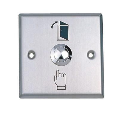 접근 제한을위한 출구 단추, 스테인리스, 차원 : 86X86 mm, 도매, 분 : 5pcs
