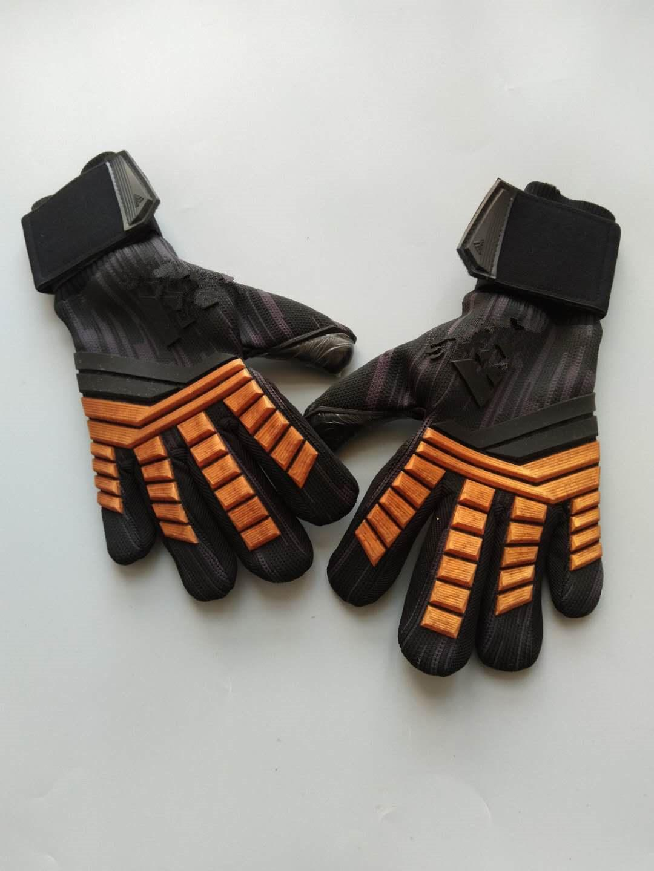 Wholesale-New arrive AD Predator Latex football goalkeeper glove Professional soccer training goalie gloves wholesale suppliers
