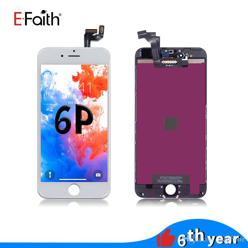 Hurtownie dla iPhone 6 Plus Wyświetlacz LCD z ekranem dotykowym Digitizer 5,5 cala Darmowa wysyłka DHL