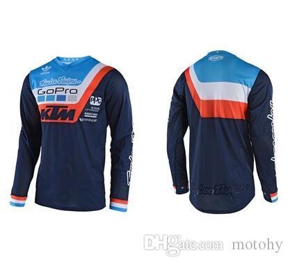 Men Cycling Jersey Jacket KTM GoPro Bike Motocross MTB Tight Shirt Team Clothing