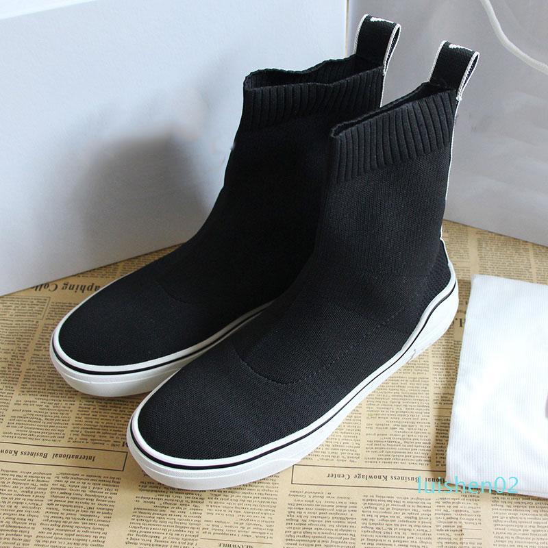 Sock Designer Shoes velocità Parigi del progettista famoso scarpe da ginnastica bianche lettera miglior designer di alta qualità del calzino dei pattini degli uomini del regalo per le donne L02