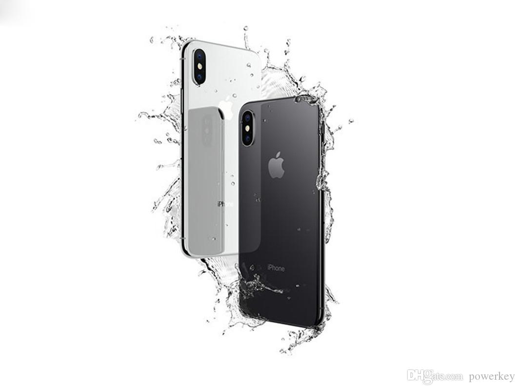 Newest IOS System Original Unlocked Refurbished Apple iphoneX 4G LTE Mobile phone 3G RAM 64G/256G ROM Cellphone without Face ID