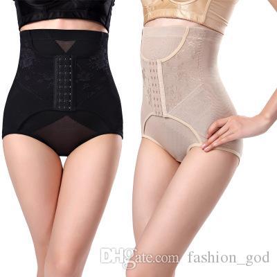 Mulheres Calcinha Trainer Cintura Calças Respirável Shapers Do Corpo Cintura Corset Underwear Cuecas Controle de Calcinha Cueca das Mulheres YFA901