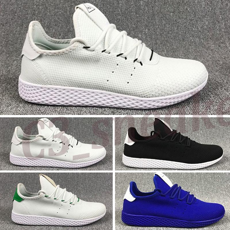 2020 New arrive Pharrell Williams x Stan Smith HU Primeknit Tennis men Shoes women Sneaker sports Shoes breathable EUR 36-45 C5