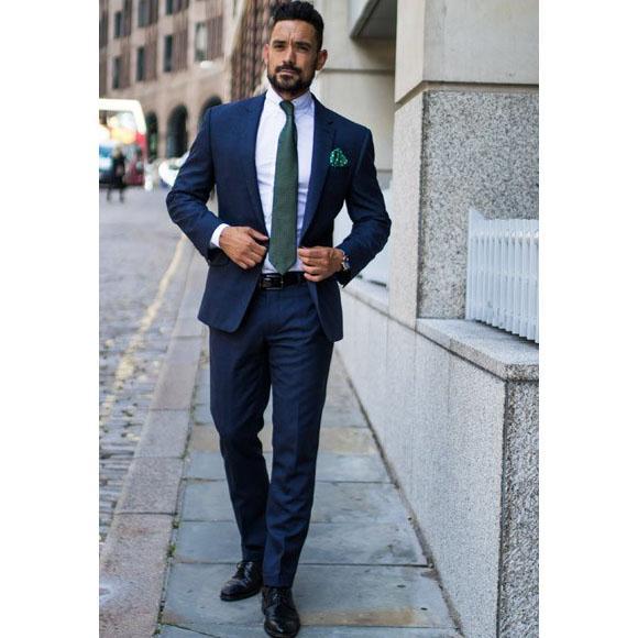 بذلات الرجال البدلة 2 قطعة الإيطالية أنيق للرجال 2020 صالح سليم البدلات الرسمية لحزب حفلات الزفاف العريس الرجال (سترة + سروال)